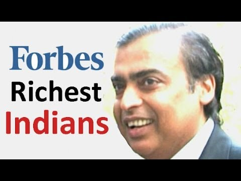 Top Richest Indians in Forbes India's 2013 list
