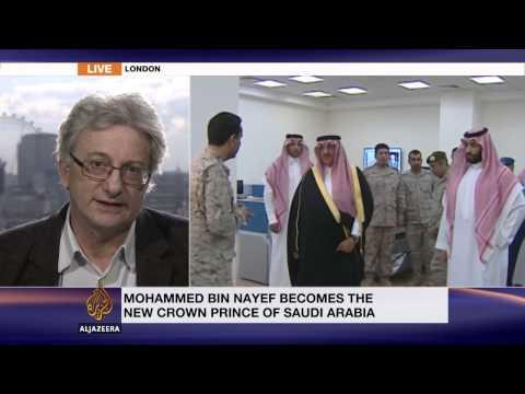 Expert discusses Saudi Arabia's power reshuffle