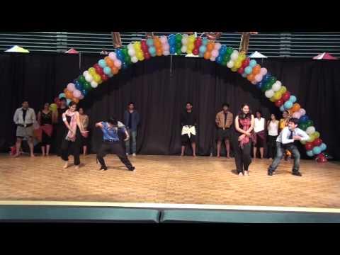 Unc Charlotte Ifest 2009 Triveni (jai Ho, Badan Pe Sitaare) video