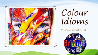 British English Colour Idioms – Develop Your English Vocabulary