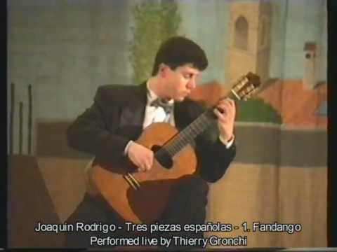 Хоакин Родриго - Tres Piezas Espanolas 1 Fandango