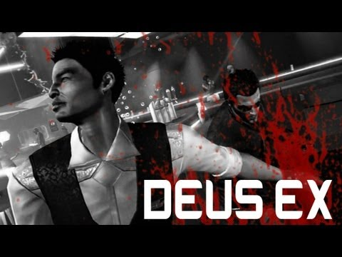 Adam Jensen Walks Into a Bar...   A Deus Ex: Human Revolution Montage