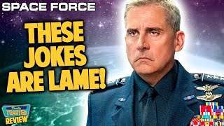 SPACE FORCE NETFLIX SERIES REVIEW | Double Toasted