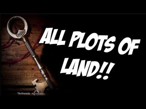 Skyrim: Hearthfire - How to Buy all Three Plots of Land