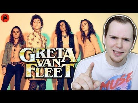 I'VE NEVER HEARD GRETA VAN FLEET (FIRST REACTION)