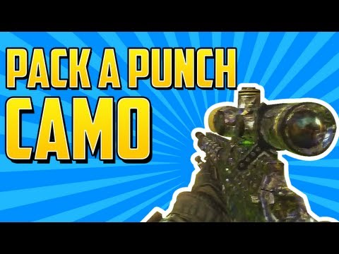 Black Ops 2 NEW Camos + Images! PACK A PUNCH Camo! Aqua. Rougue. Breach & More! (Gameplay)