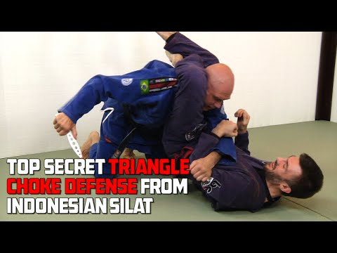 Top Secret Triangle Choke Defense from Silat