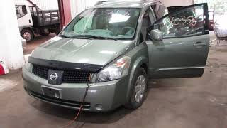 Parting out a 2005 Nissan Quest parts car - 180356 - Tom's Foreign Auto Parts