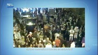 Traficantes rivais trocam tiros durante baile funk em Belo Horizonte (MG)