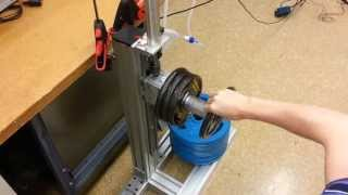 Servo Pneumatic Weight Lifting to Intermediate Positions (Varying Load) - Enfield Technologies