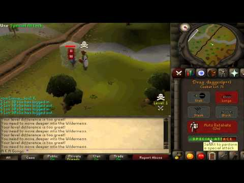 Biggest Runescape 2007 Wildy Lure Video Ever! [1B+ LOOT]