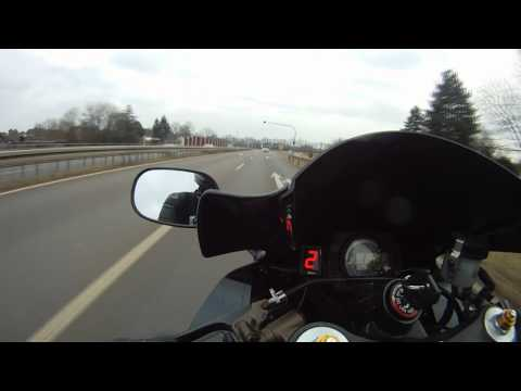 Kawasaki ZX-10R - High speed