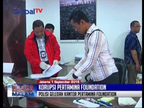 Dugaan Korupsi Dana CSR, Polisi Geledah Kantor Pertamina Foundation - BIM 01/09