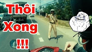 CSGT bắt lỗi - Thanh niên xử lí quá bá đạo và cái kết...   Phượt   Vietnam MotoVlog   RinRin  