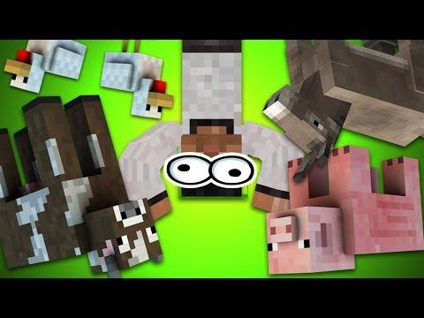 НАРКОМАНСКИЕ МОБЫ - Minecraft (Секрет)