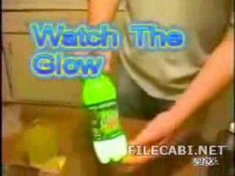 How to make Mountain Dew Glow in the dark.
