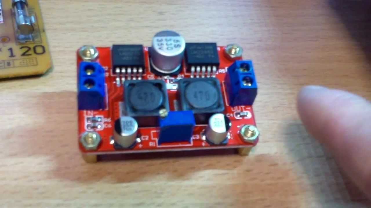 Dc To Dc Boost Buck Converter For Small Projects Youtube