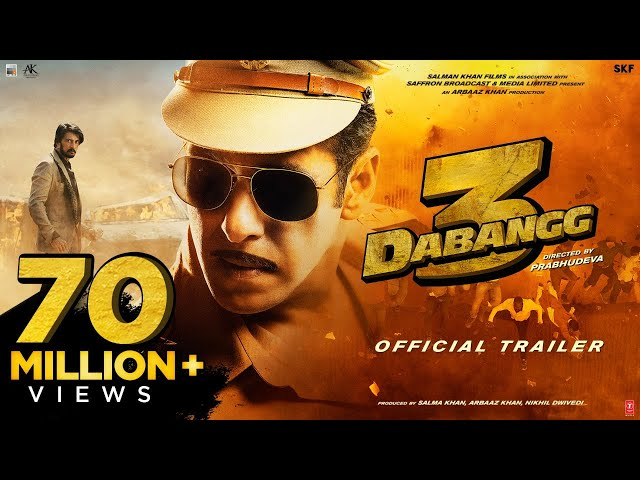 Dabangg 3: Official Trailer | Salman Khan | Sonakshi Sinha | Prabhu Deva | 20th Dec'19 thumbnail