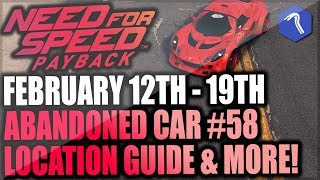 Need For Speed Payback Abandoned Car #58 - Location Guide + Gameplay - LOTUS EXIGE S LUVBUG!