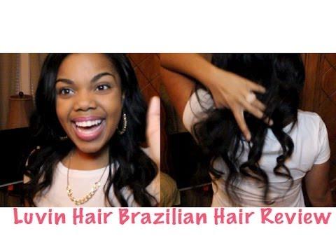 Luvin Hair Aliexpress Brazilian Body Wave Hair Review