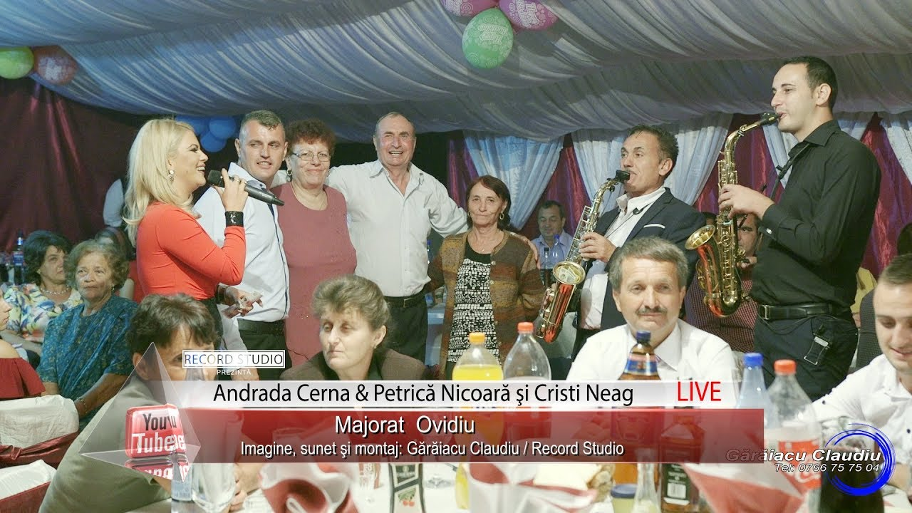 Andrada Cerna & Petrica Nicoara - Ma mandresc cu fata, fetita lui tata | SHOW LIVE Majorat Ovidiu