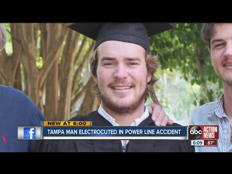 Tampa man electrocuted in power line accident