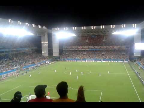 Nigeria vs. Bosnia - FIFA World Cup Brazil 2014 - Nigeria Goal Celebration
