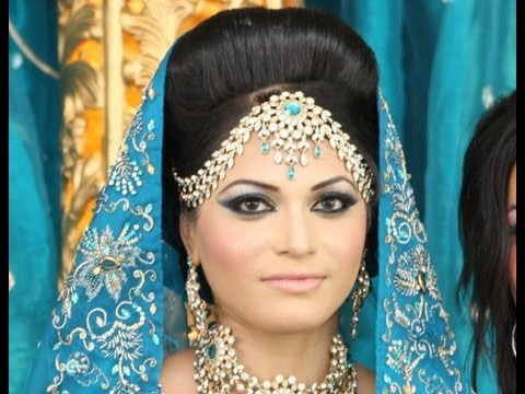 Arabic bridal Pakistani bride & Indian Bridal Makeup - Less is More - by Zukreat.com