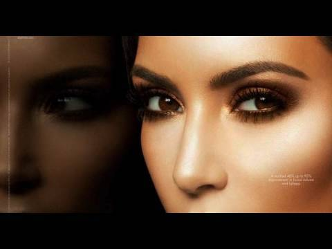 Kim Kardashian Bronzed Smokey Eye - YouTube