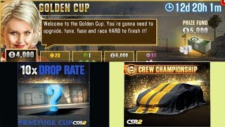 CHANGES TO PRESTIGE CUP, NEXT SEASON PRIZE, GOLDEN CUP | SEASON 42 | CSR RACING 2