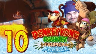 THE FLOOR IS LAVA   BLIND Playthrough Donkey Kong Country Tropical Freeze - Part 10