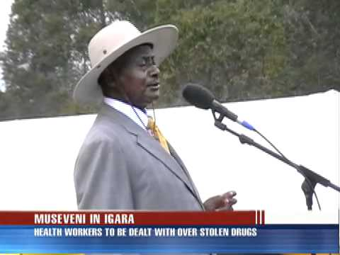 Museveni to act tough on drug thieves