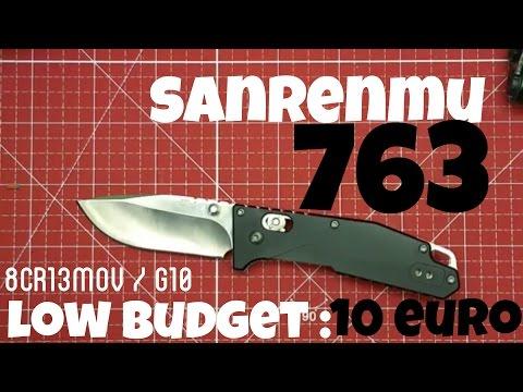 ✔SANRENMU 763 - Low Budget Folder F. 10 Euro || Axis Lock | 8cr13mov | G10