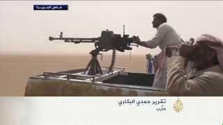 رجال القبائل في مأرب شرق اليمن يستعدون للقتال