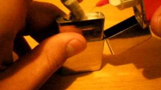 How To Fill A Zippo Lighter