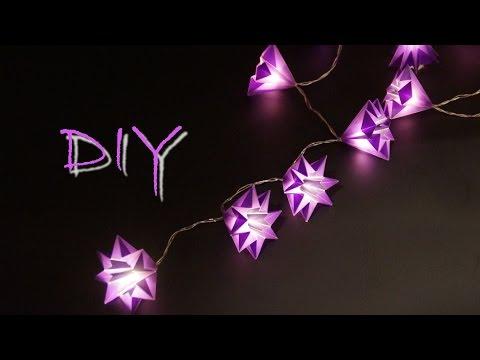 Sterne Basteln Mit Papier Zu Weihnachten Schöne Weihnachtsdeko