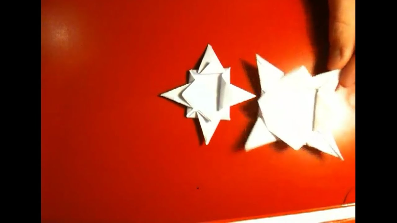 origami stern falten anleitung youtube. Black Bedroom Furniture Sets. Home Design Ideas