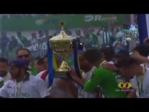Antigua GFC campeón del Apertura 2015 (Walter Avalos - La Red)