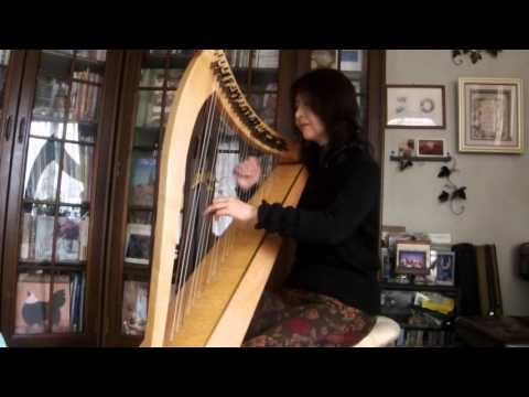 花は咲く・Hana Wa Saku (cover) 〜 KIKI(Irish Harp Arrangement)