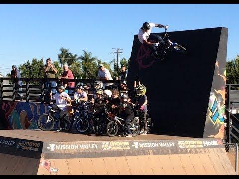 LIL PROS BMX TOUR - Part 2 - San Diego Clairemont Skatepark & Orange County