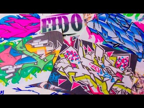 Eido Graffiti Sticker Trade