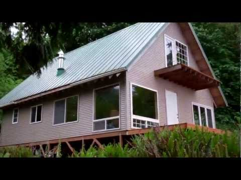 Off Grid Cabin Solar Power.mp4