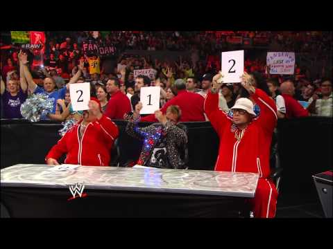 R-Truth vs. Fandango: Raw, May 6, 2013