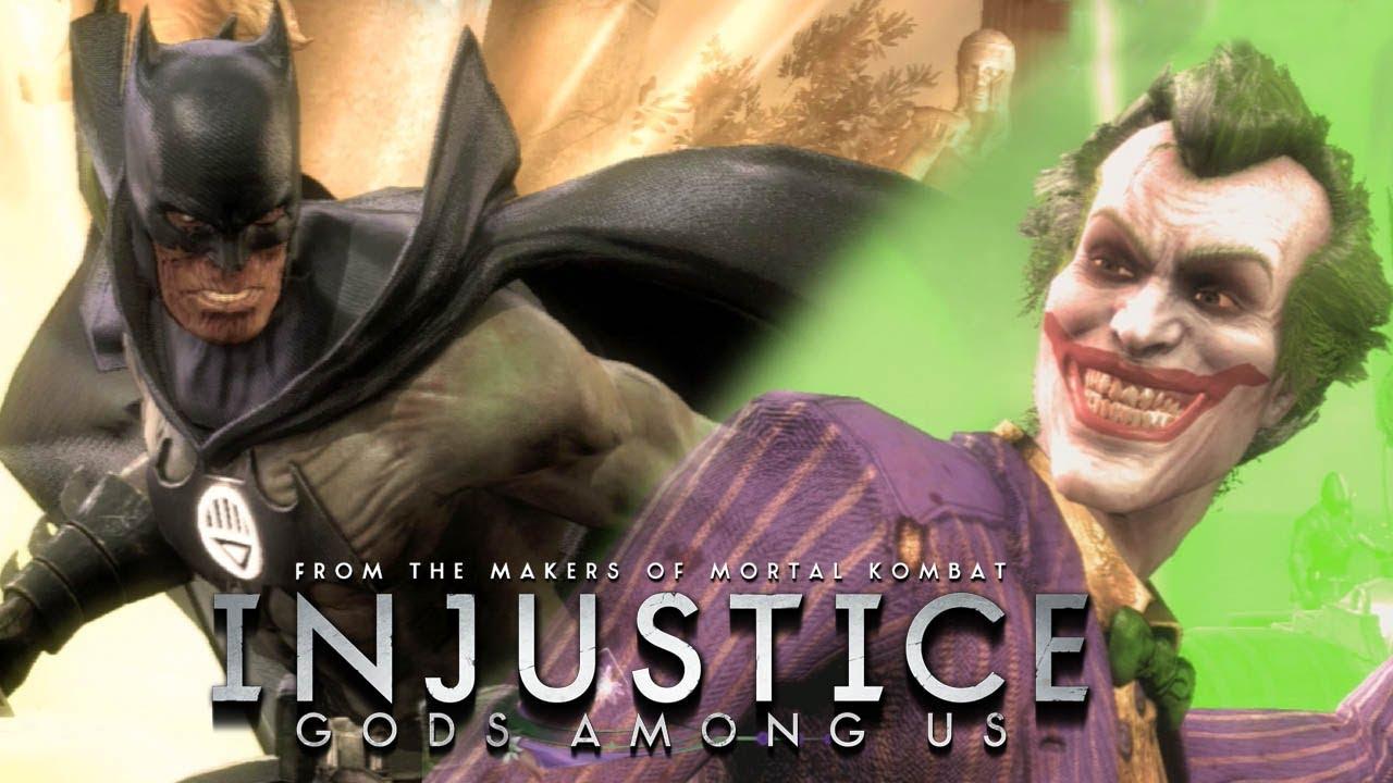 Injustice: Gods Among Us - Batman Blackest Night vs The