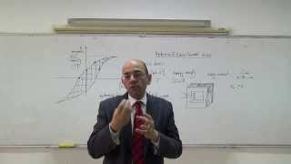 Magnetic Circuits V: Hysteresis and eddy current losses, 13/3/2014