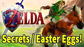 Zelda Ocarina of Time - Secrets and Easter Eggs!