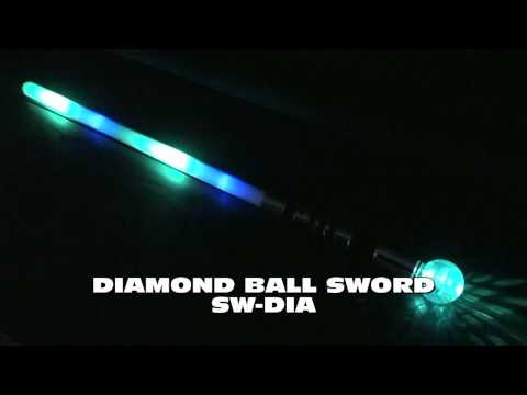 Flashing Diamond Ball Sword