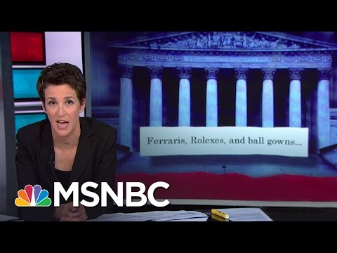 Supreme Court Redefines Government Corruption | Rachel Maddow | MSNBC