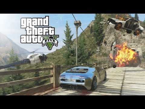 GTA V – Mount Chiliad Police Chase