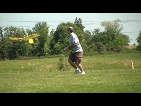 Catch RC plane with Teeth